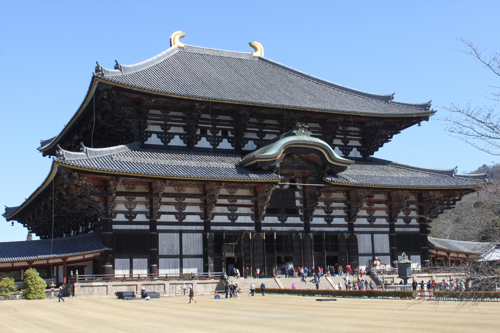 Todai-ji Tempel in Nara
