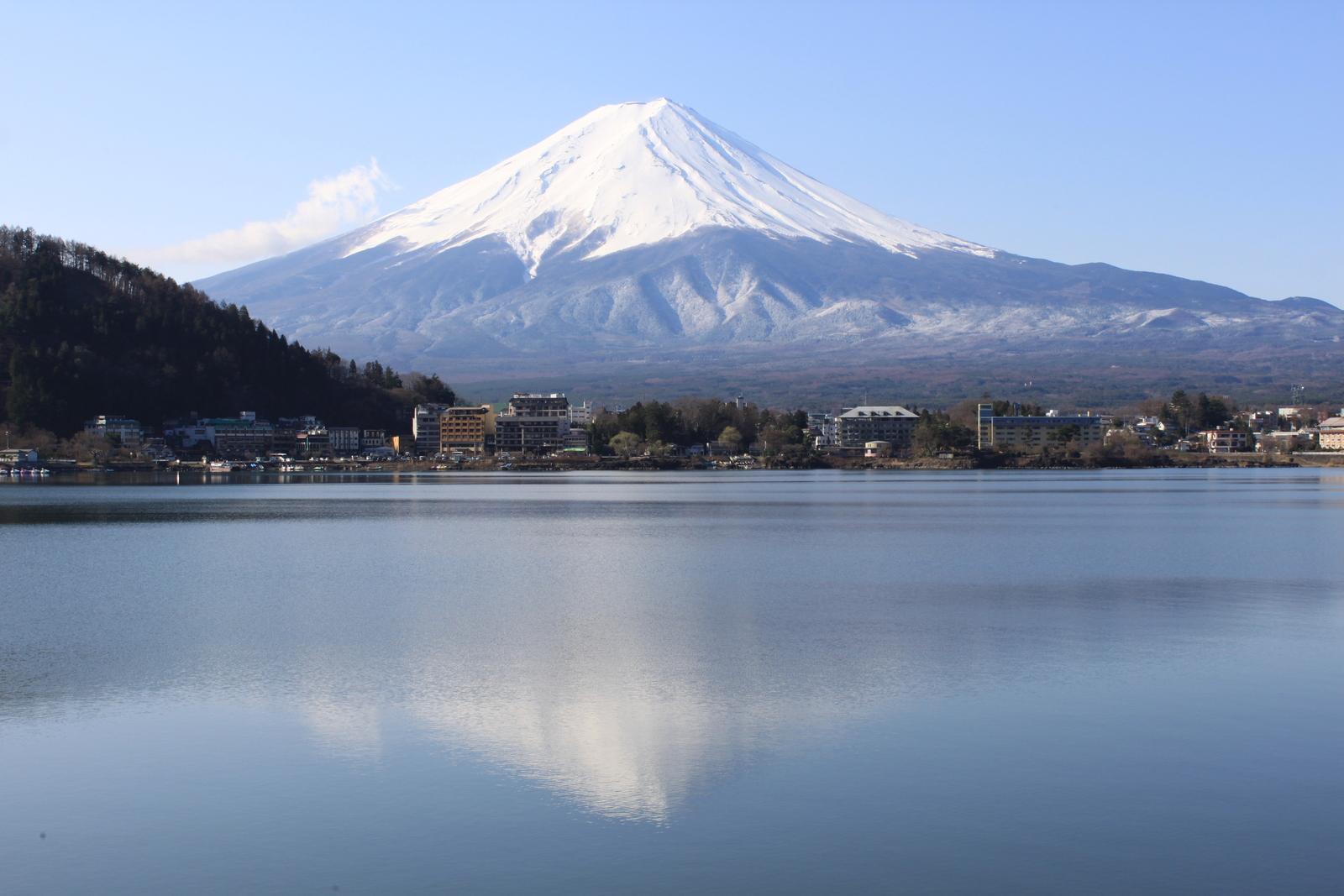 Fuji mit Kawaguchi See
