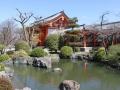 Im Tempelgarten des Kannon Tempels Kyoto