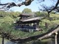Teehaus im Garten des Shogun Palastes in Kyoto