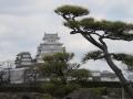 Burg von Hemeji aus der Distanz