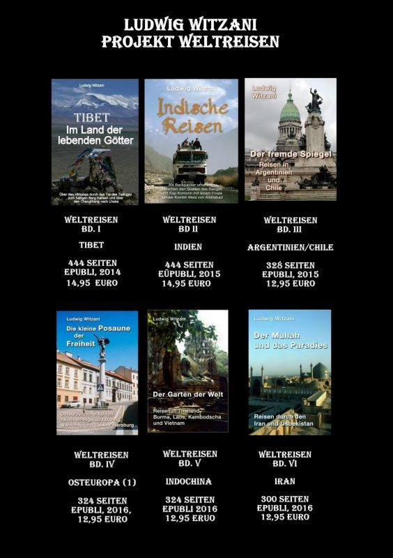 Projekt Weltreise Überblick 1-6
