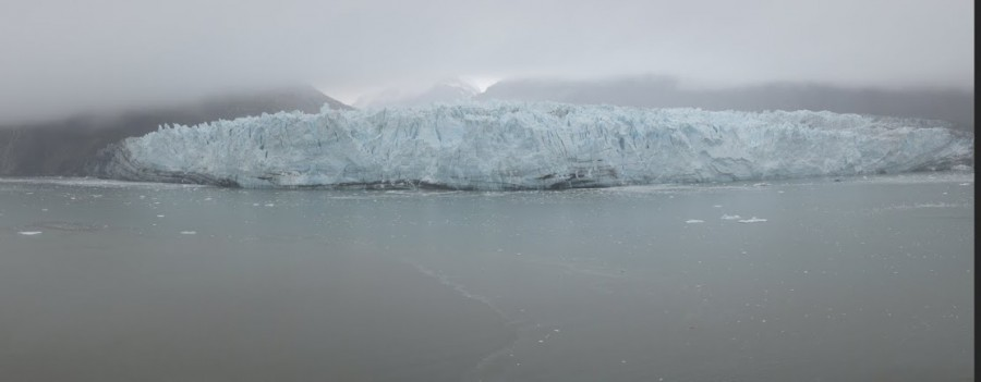 Die reisen Wand des Margerie Gletschers