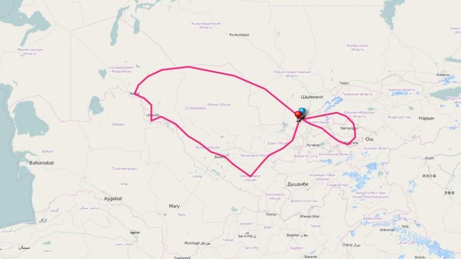 aa Usbekistan Reise